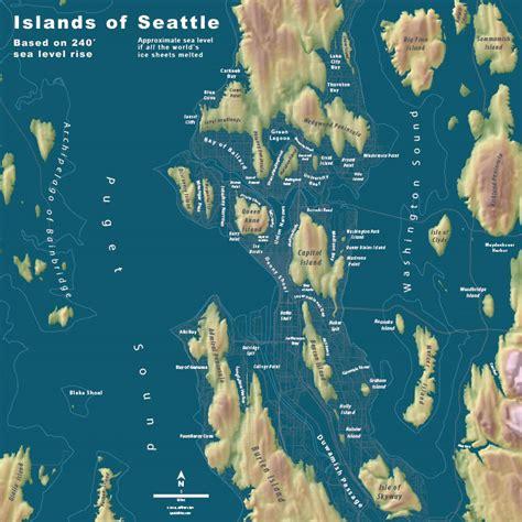 seattle islands map islands of seattle spatialities