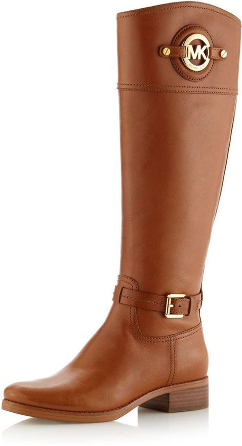 cheap mk boots michael michael kors stockard leather boot all