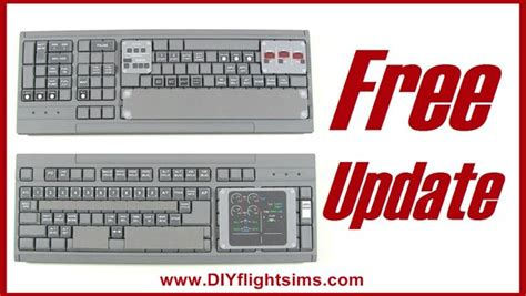 fsx printable keyboard stickers airliner keyboard mod update more than flight sim