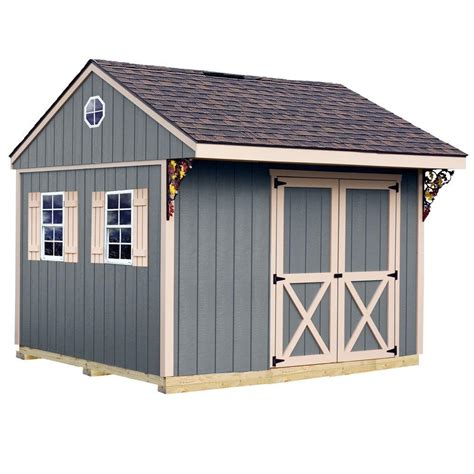 metal shed kits best barns northwood 10 ft x 10 ft wood storage shed kit with floor including 4 x 4 runners