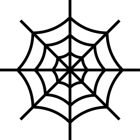File Spider Web Noun Project 813 Svg Wikimedia Commons Spider Web Template