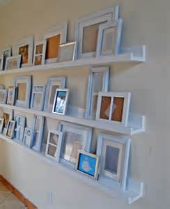 Picture Frame Ledge Shelf by Diy Ledges Simply Organized