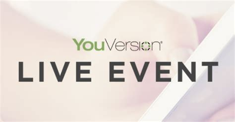 youversion live church