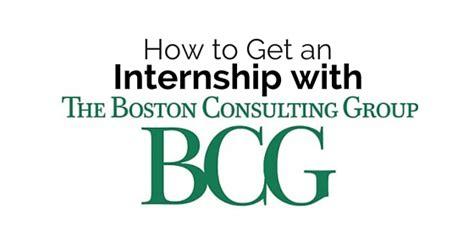 boston consulting group indonesia internship how to get an internship with boston consulting group