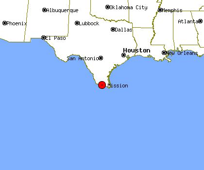 mission texas map where is mission texas on texas map
