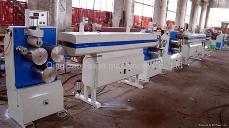 rubber st production pet straping band packing belt production line 064