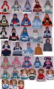 fashion doll family ravelry book 8 fashion doll family winter knits pattern