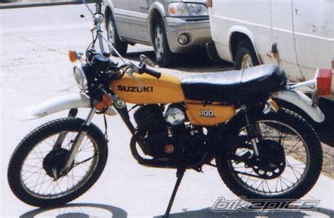 Suzuki Ts 100 Bikepics 1977 Suzuki Ts 100