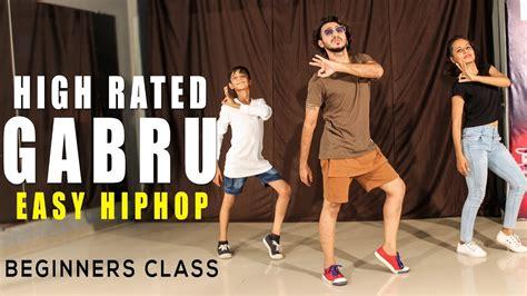 tutorial dance class high rated gabru dance choreography easy hip hop
