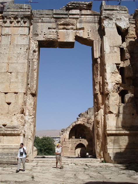 temple  jupiter baalbek lebanon photo gallery