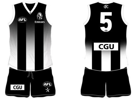 collingwood jersey design thread magpies bigfooty afl forum