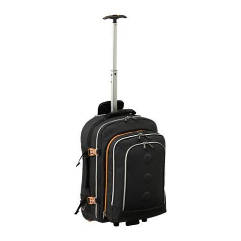 upptaecka backpack  wheels ikea