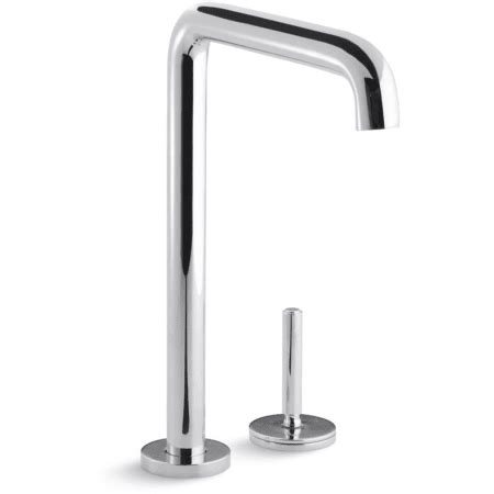 Kallista Kitchen Faucets Kallista P25201 00 Ag Brushed Nickel One Kitchen Faucet With Metal Lever Handle Faucetdirect