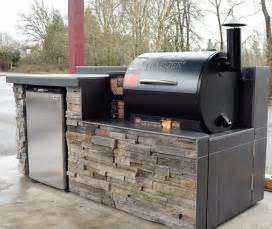 Sunset Trading Kitchen Island outdoor kitchen smoker built in traditional patio