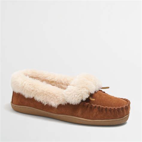 slipper factory shearling foldover fireside slippers factorywomen