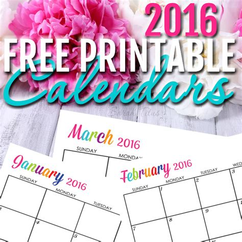 free printable life planner 2016 free 2016 printable calendars completely editable online