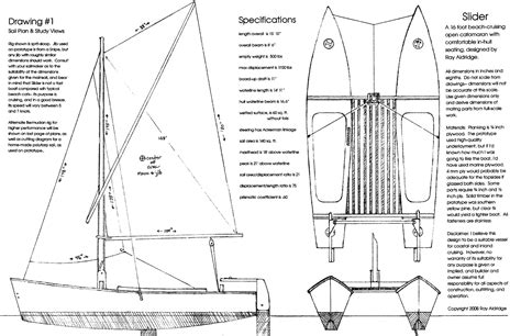 hobie 16 catamaran dimensions tim s boat building slidercat build timsboats