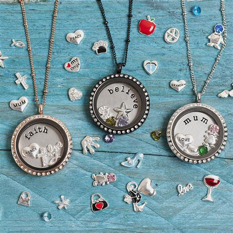 lockets of charm locket necklace by lauryn