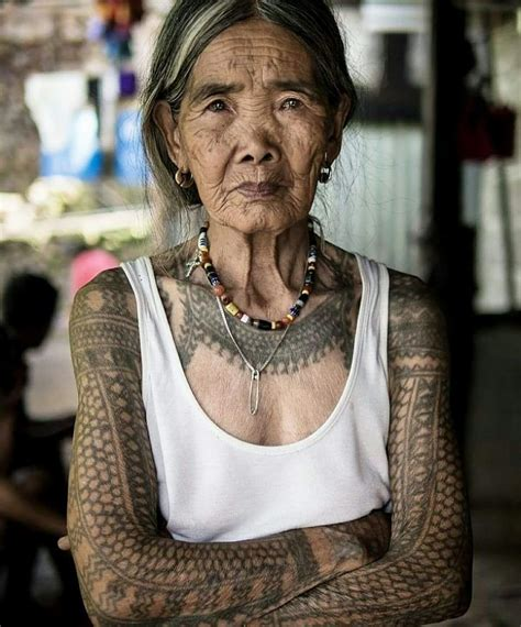 old tattoos meet this badass 100 year tribal artist