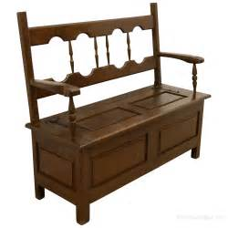 hall benches neat sized oak hall bench antiques atlas