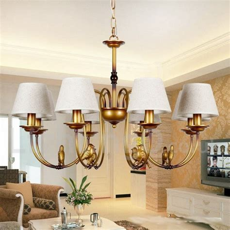 New Style Chandeliers 8 Light Modern Contemporary Rustic Living Room Retro