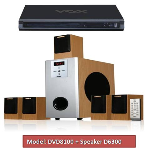 buy vox 5 1 dvd home theatre 10000w with fm usb sd card