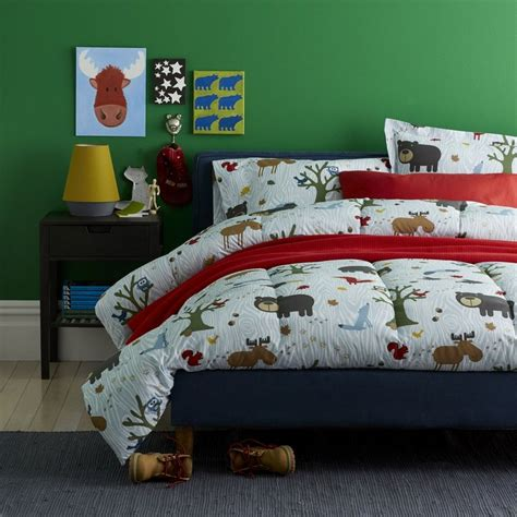 kids woodland bedroom woodland kids sheets bedding set the company store