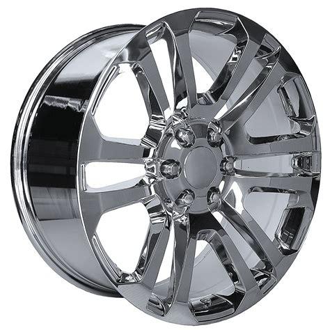 i m not a fan of chrome wheels i sort o by brooke burke 20 inch oe performance 158c gmc accessory ck158 wheels