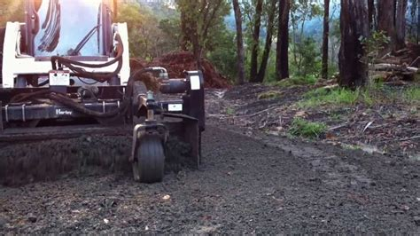 Landscape Rake On Gravel Landscape Australia Nsw Using A Harley Rake To Clean Up