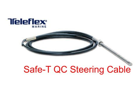 buy boat steering cable 15 teleflex marine safe t qc rotary boat steering cable