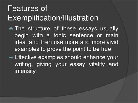 Exemplification Essay Topics by Exemplification