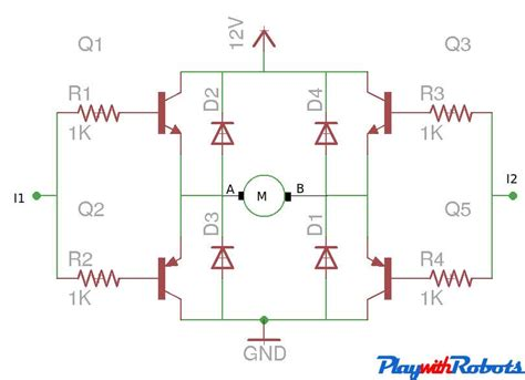 dc motor driver circuits