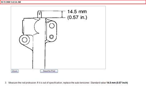 2005 Kia Optima Timing Belt Replacement How To Change The Timing Belt On 2005 Kia Optima