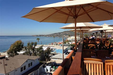 roof top bar laguna great places to meet for lunch in laguna beach ca