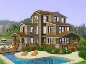 Sims 3 Family House Plans Sims 3 House Sims 3 Content House Plans The Sims And Decks