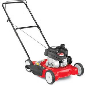 yard machine 21 push mower reviews yard machines 20 quot gas push lawn mower with side discharge