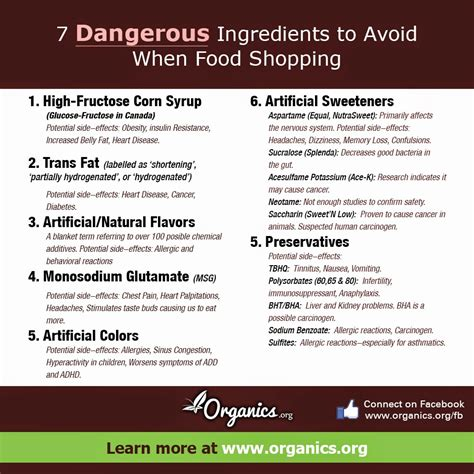 10 Ingredients To Avoid In Your Food by Sanjay Eat Smart Stay Healthy Reading