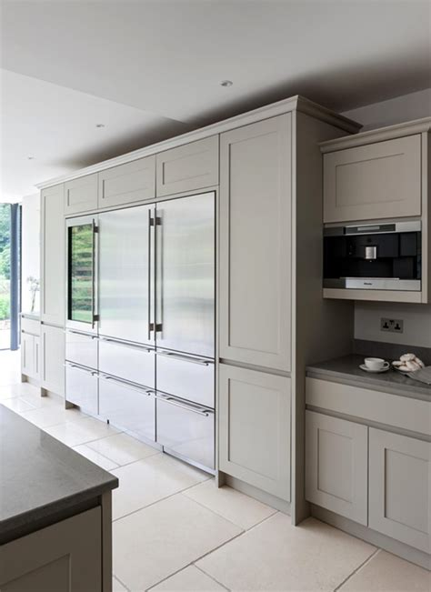 gourmet kitchen cabinets sub zero refrigerators flush with cabinetry in gourmet
