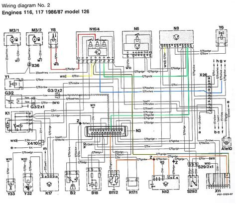 w126 wiring diagram wiring diagram and schematics