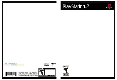 best photos of ps2 cover template playstation 2 cover