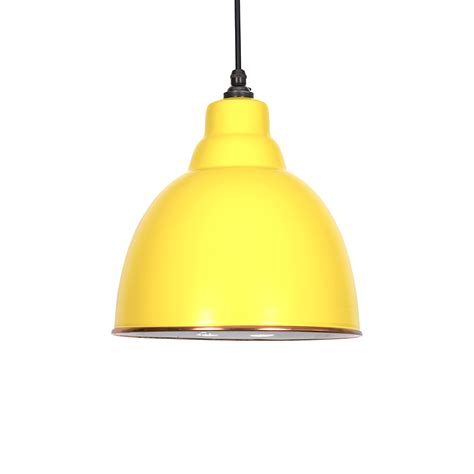 Yellow Pendant Light Brindley Pendant Light In Canary Yellow White Period Home Style