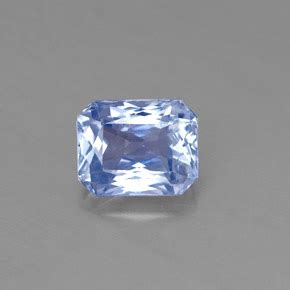 Blue Saphire 7 7ct 1 7ct light blue sapphire gem from sri lanka ceylon