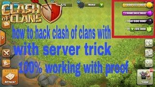 how to hack clash of clans in hindi with latest server