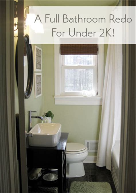 5x7 bathroom remodel cost our bathroom makeover reveal a full reno for under 2k
