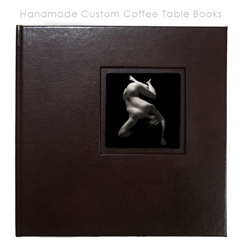 handmade custom coffee table books boudoir photography