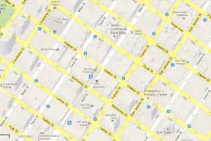 downtown houston map of streets