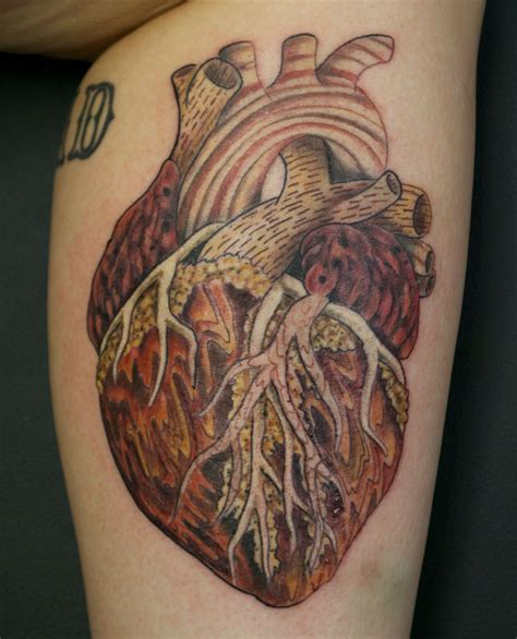 human heart tattoo matt flanagan gallery las olas company and