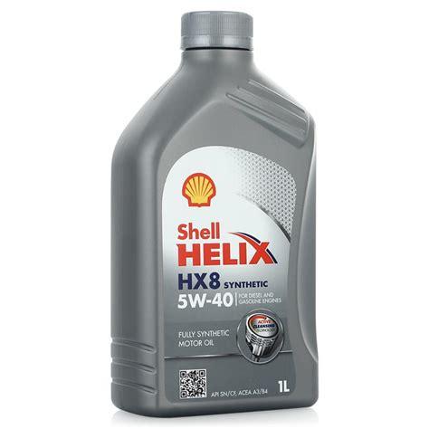 Shell Helix Hx8 Sae 5w30 Liter моторное масло shell helix нх8 5w 30 4 л синтетическое купить в интернет магазине цена