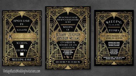 Wedding Invitations Deco by Deco Wedding Invitations Vintage Rustic Wedding