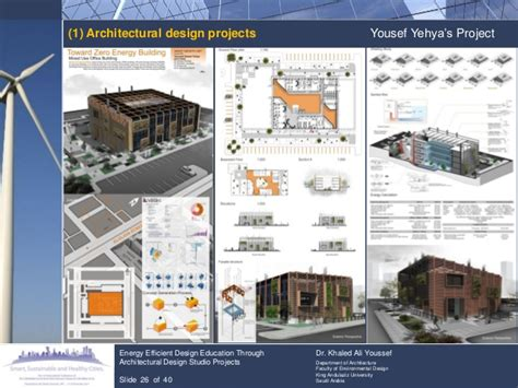 architectural projects energy efficient design education through architectural